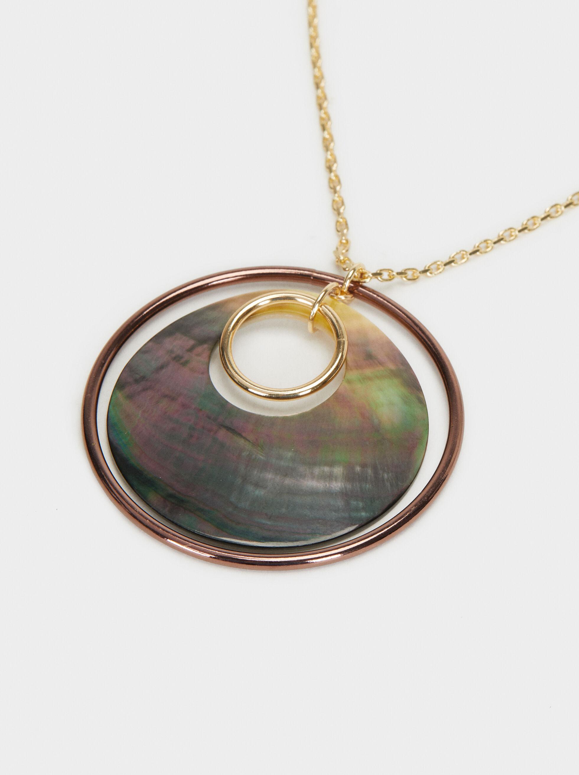 Blog Long Pendant Necklace, Multicolor, hi-res