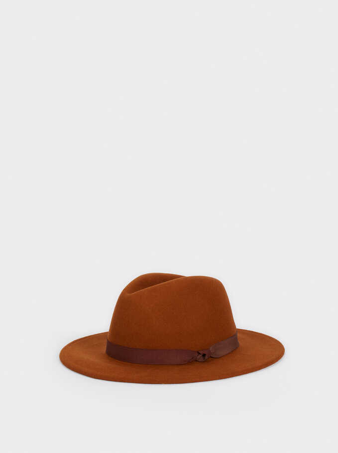 Wool Hat, Orange, hi-res