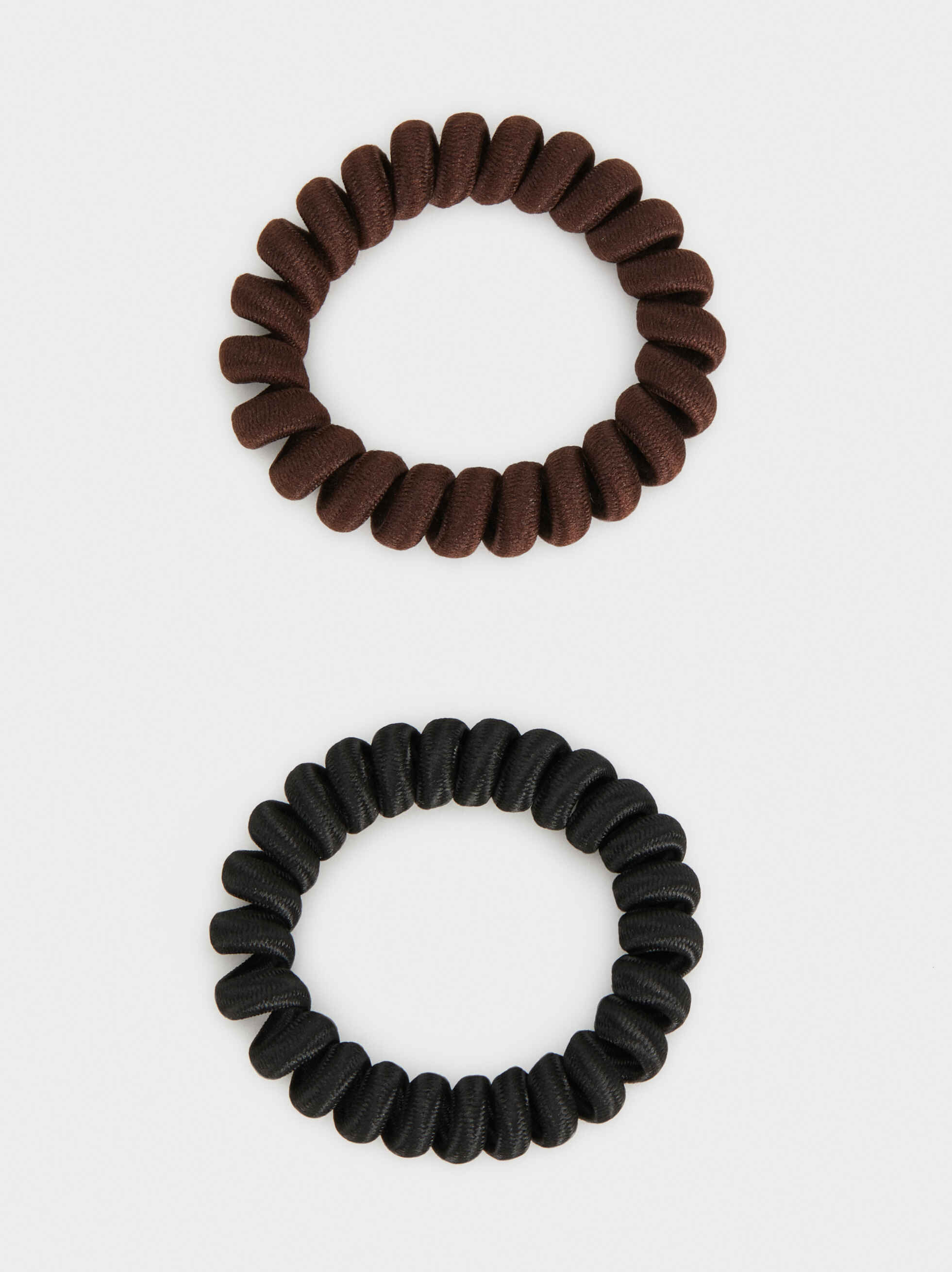Basic Hair Tie Set, Multicolor, hi-res