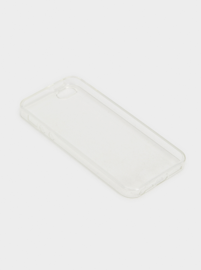Funda Protectora Basic Iphone 5, Gris, hi-res