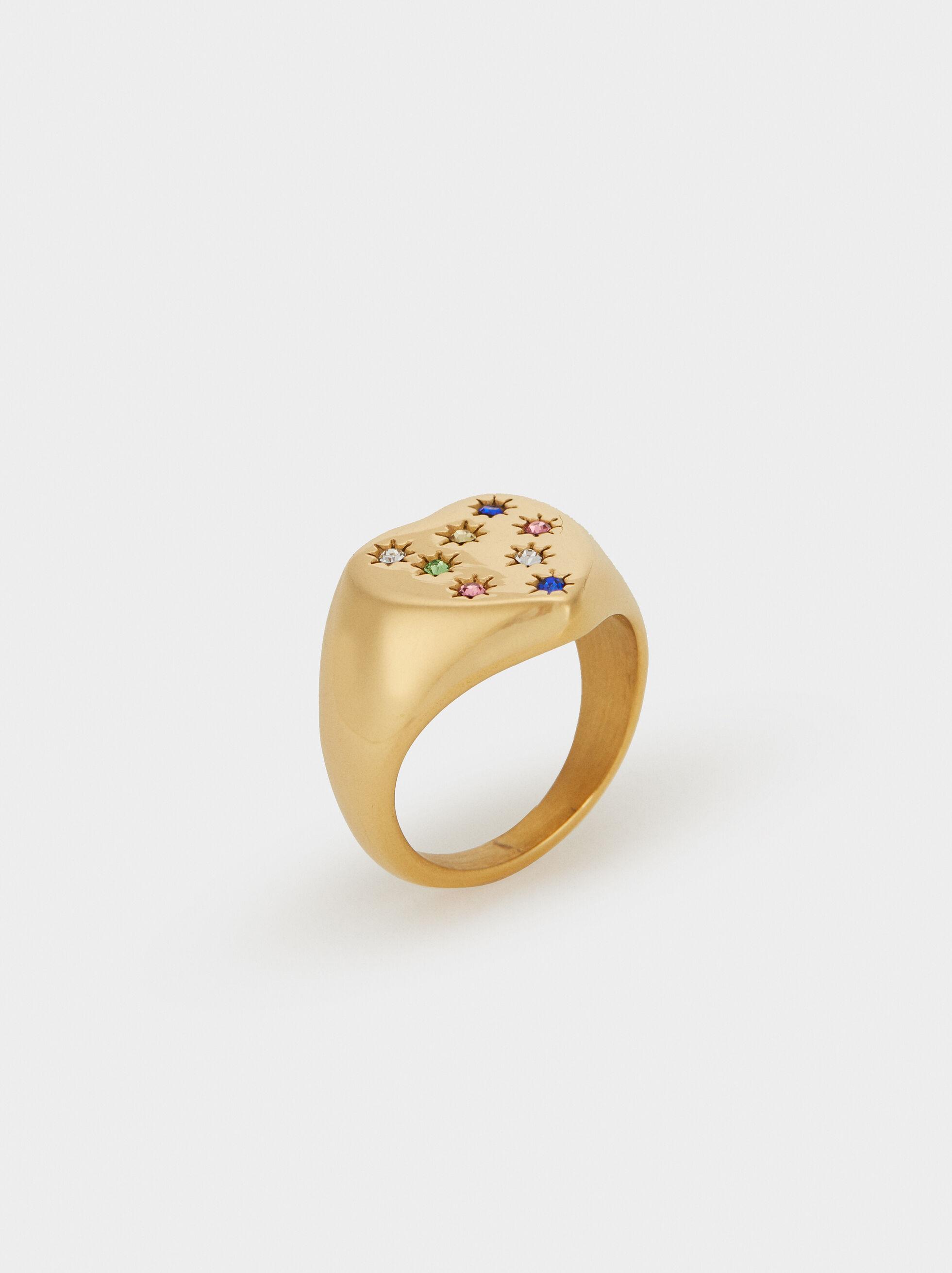 Heart Steel Ring, , hi-res