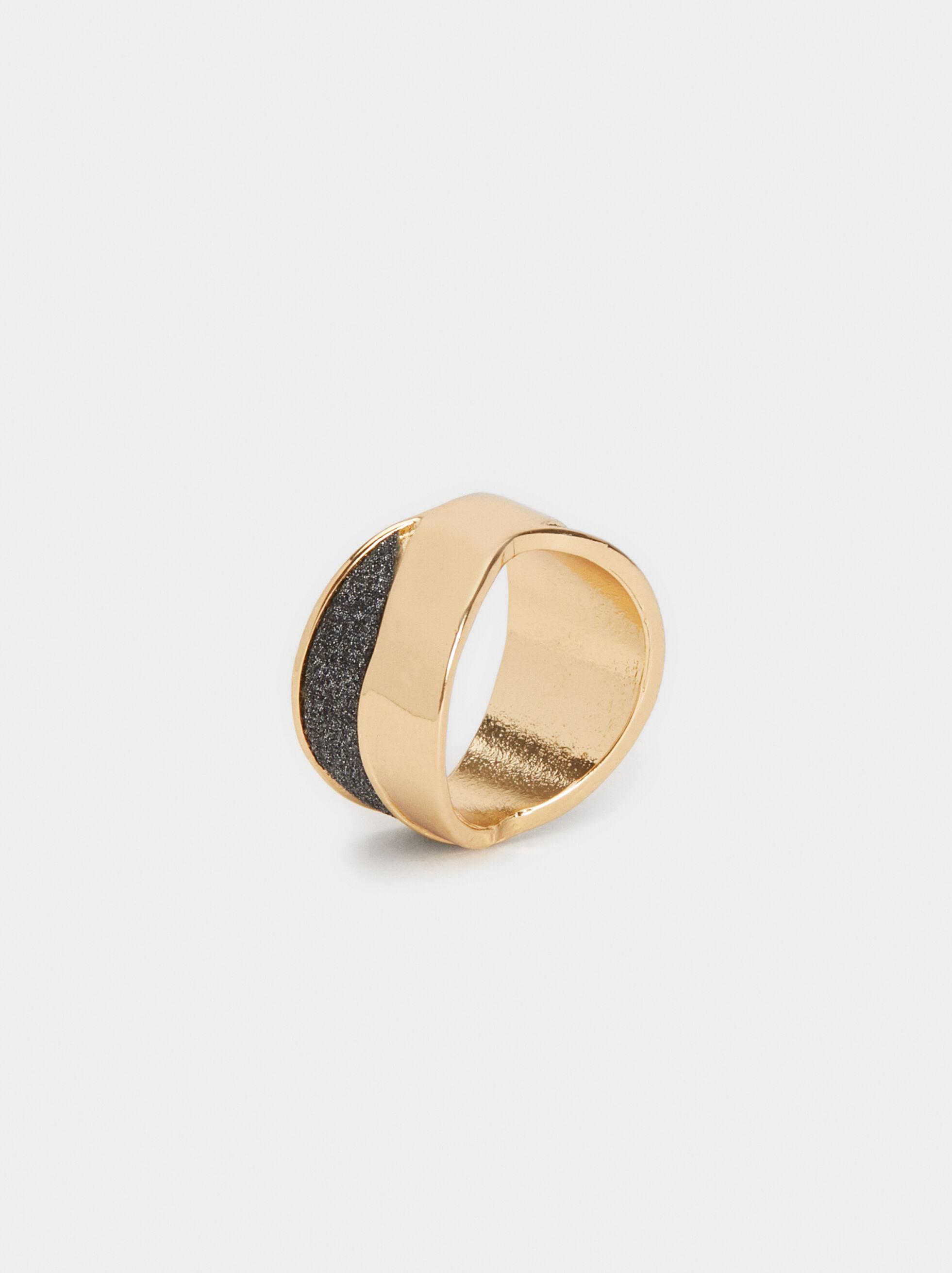 Rhinestone Double Ring, , hi-res