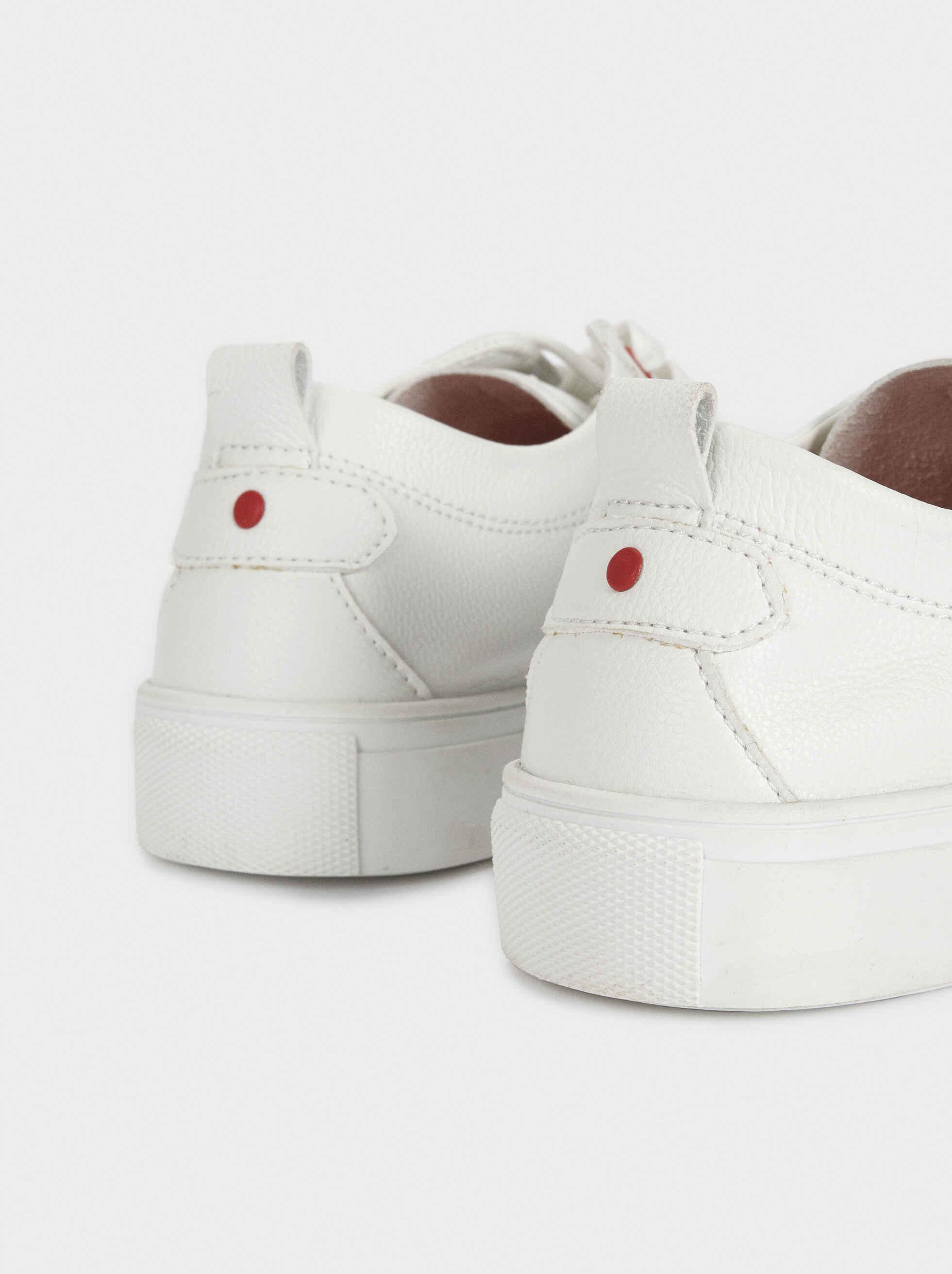 Zapatillas Deportivas Blancas, Blanco, hi-res