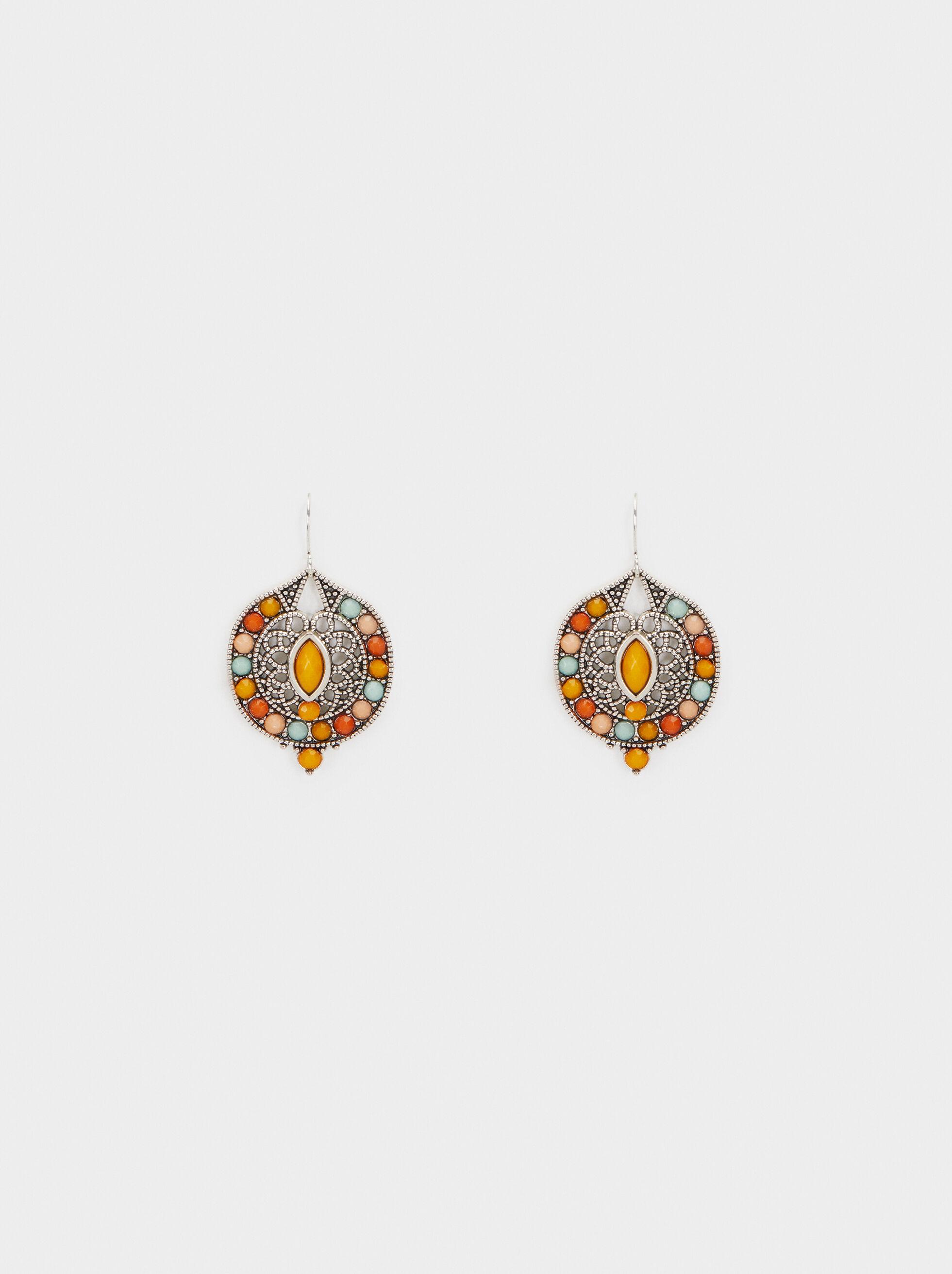 Star Valley Medium Earrings, Multicolor, hi-res