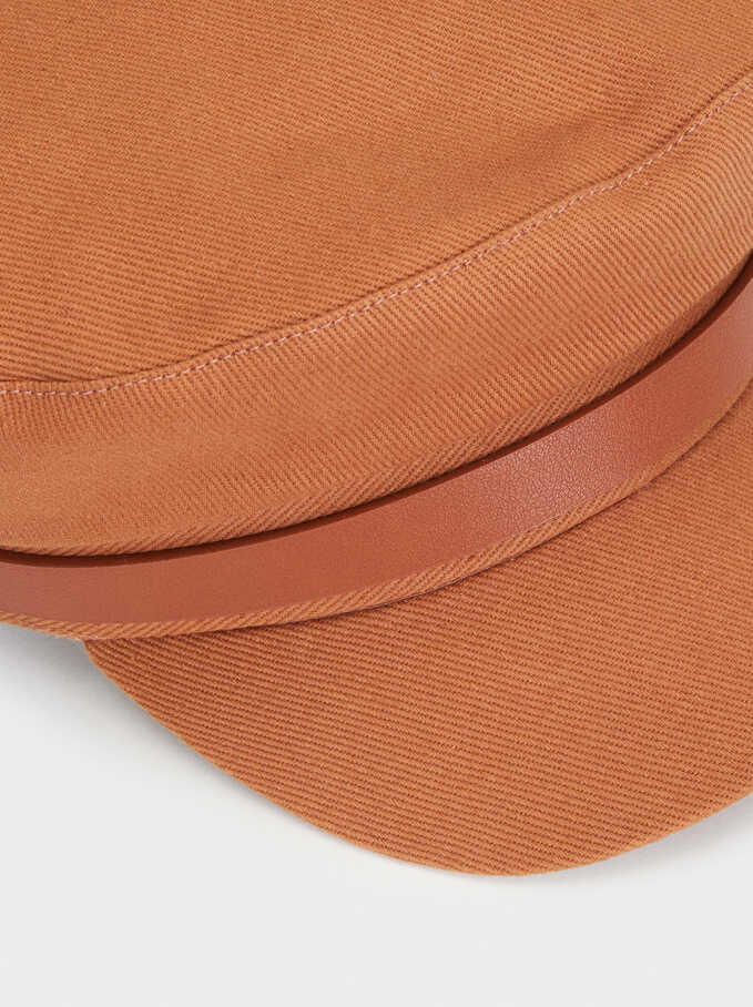 Sailor Cap, Brown, hi-res
