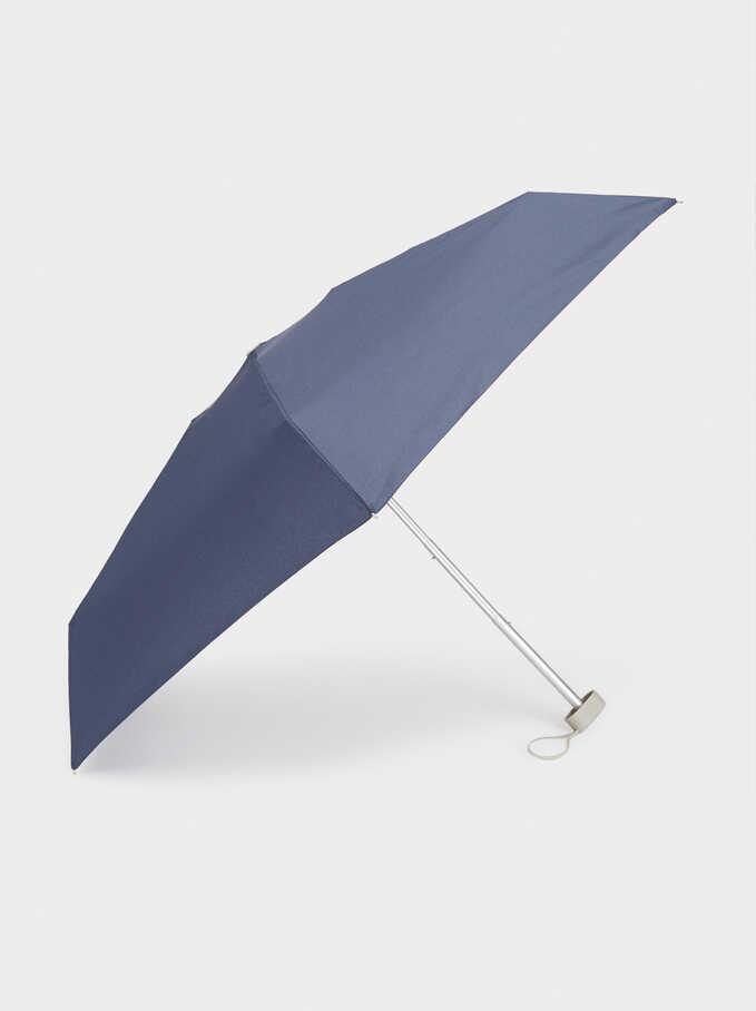 Small Plain Umbrella, Navy, hi-res