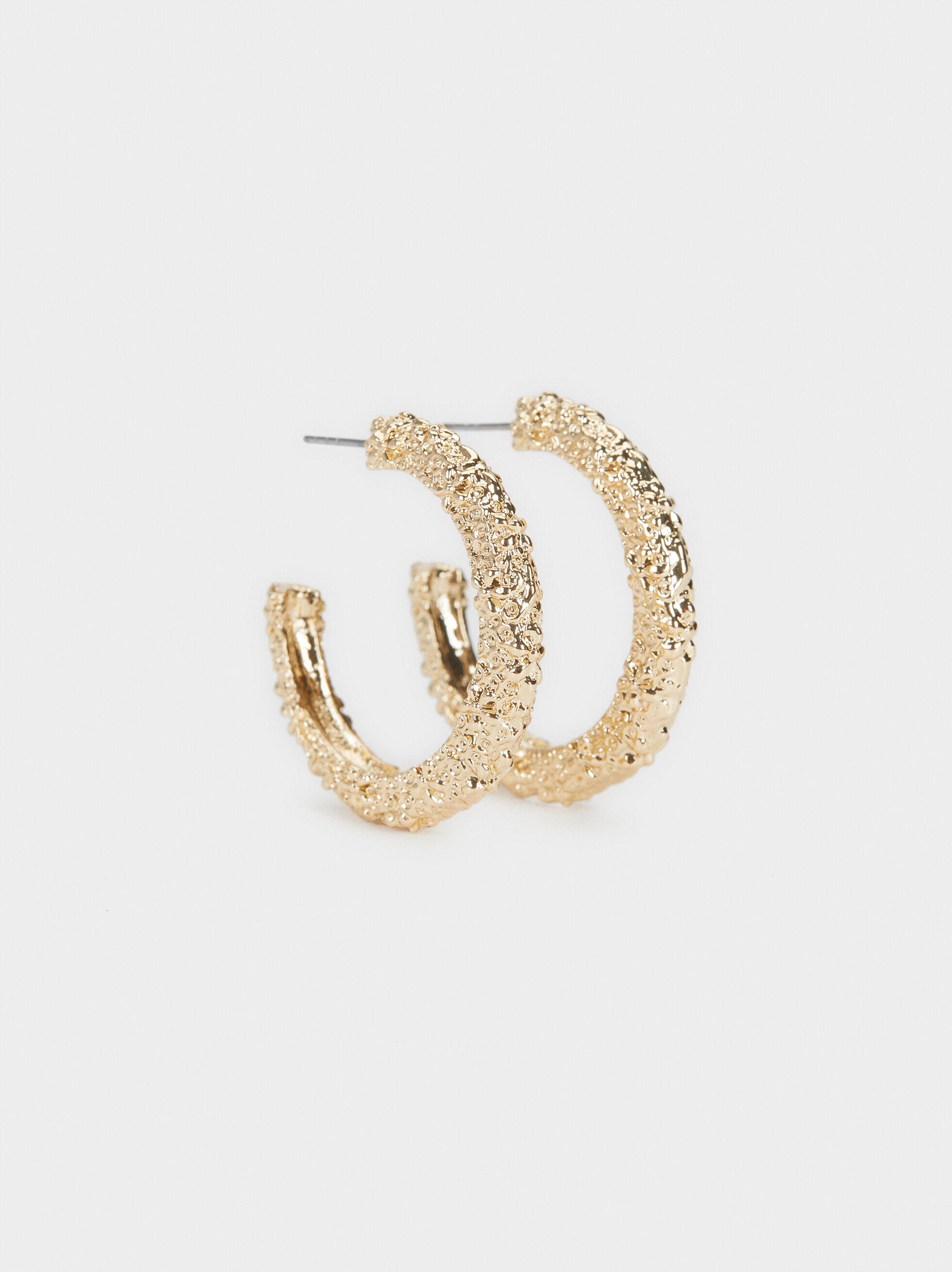 Medium Hoop Earrings Hoop Fever, , hi-res
