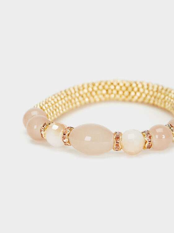 Creme Stretch Bracelet, Multicolor, hi-res