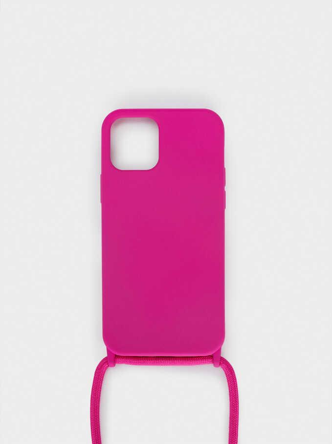 Housse Pour Téléphone Portable Iphone 12, Rose, hi-res
