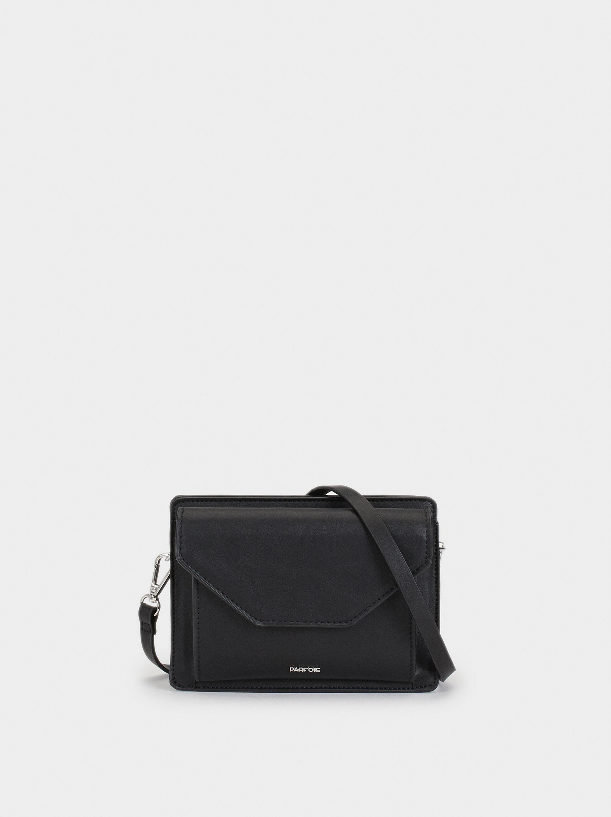 Shoulder Belt Bag With Flap, , hi-res