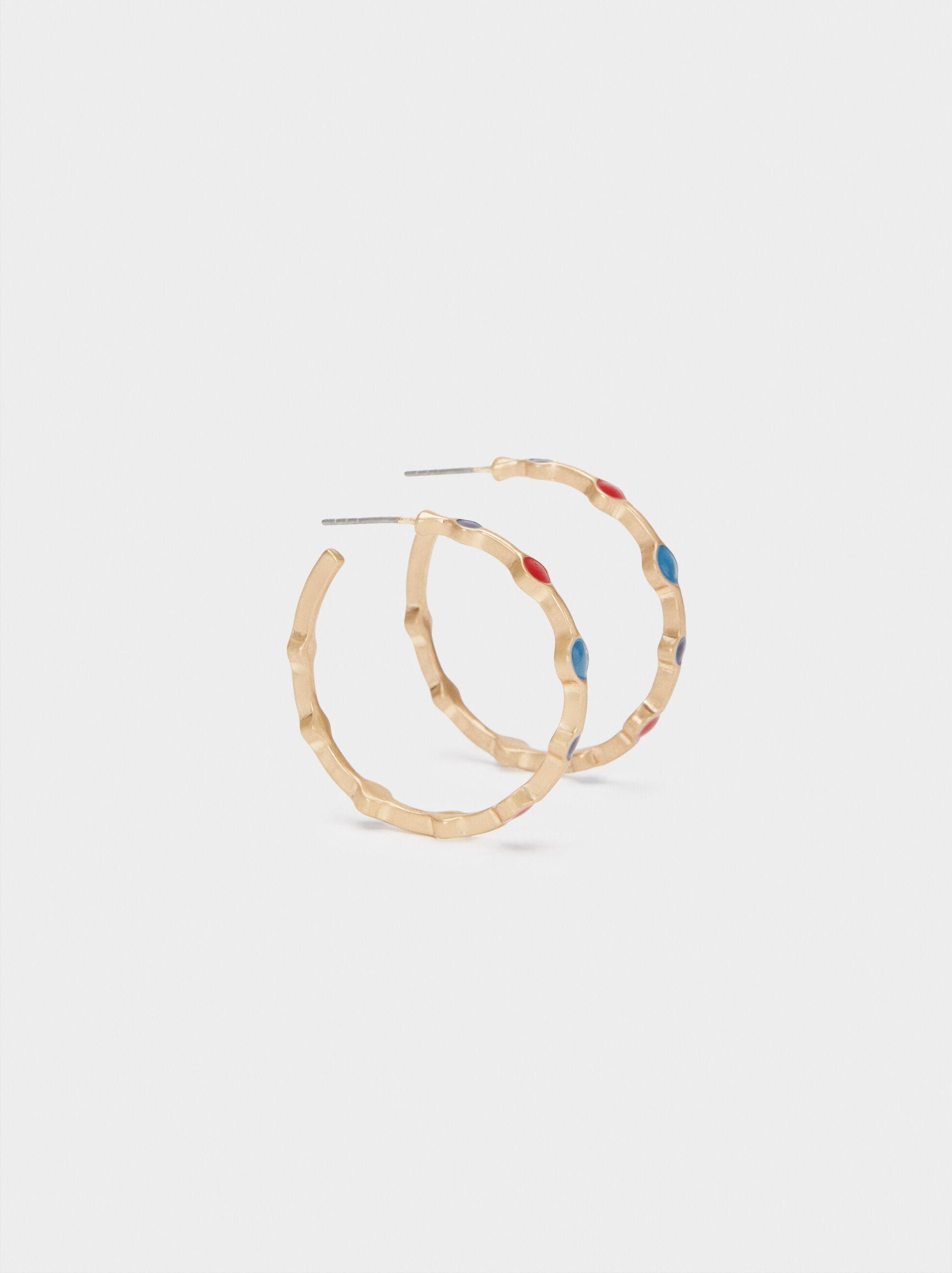 Medium Gold Earrings, , hi-res