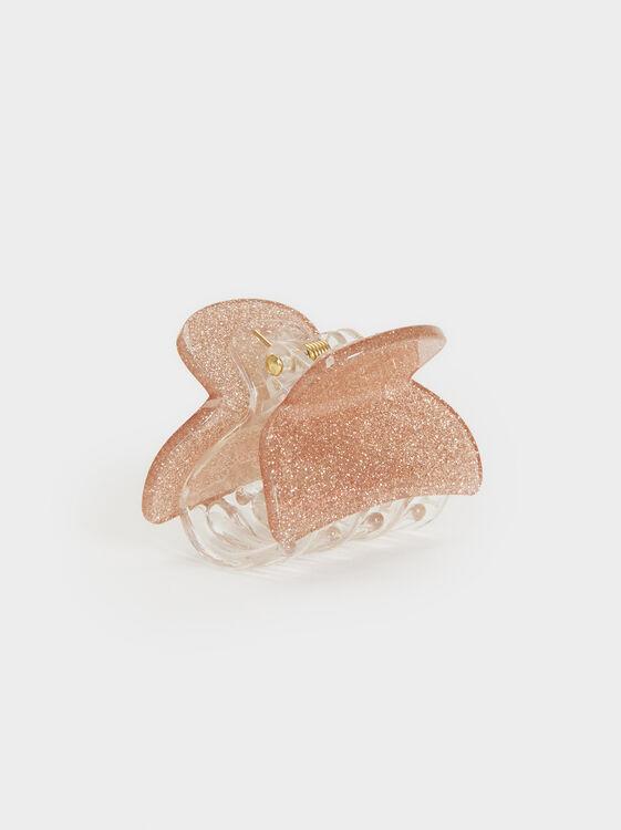Glitter Claw, Pink, hi-res