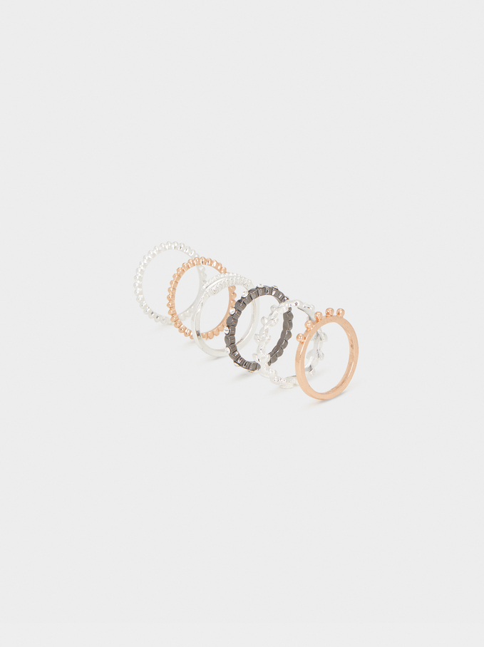 Ring Set, Multicolor, hi-res