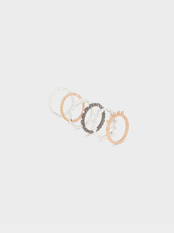 Set Of Multicoloured Rings, , hi-res