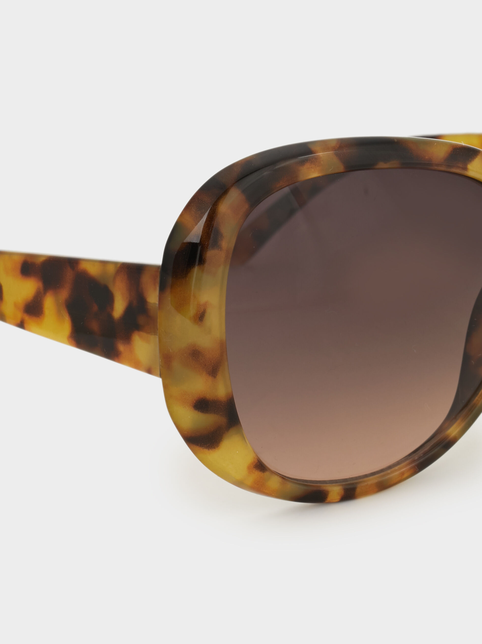 Tortoise Sunglasses, Brown, hi-res