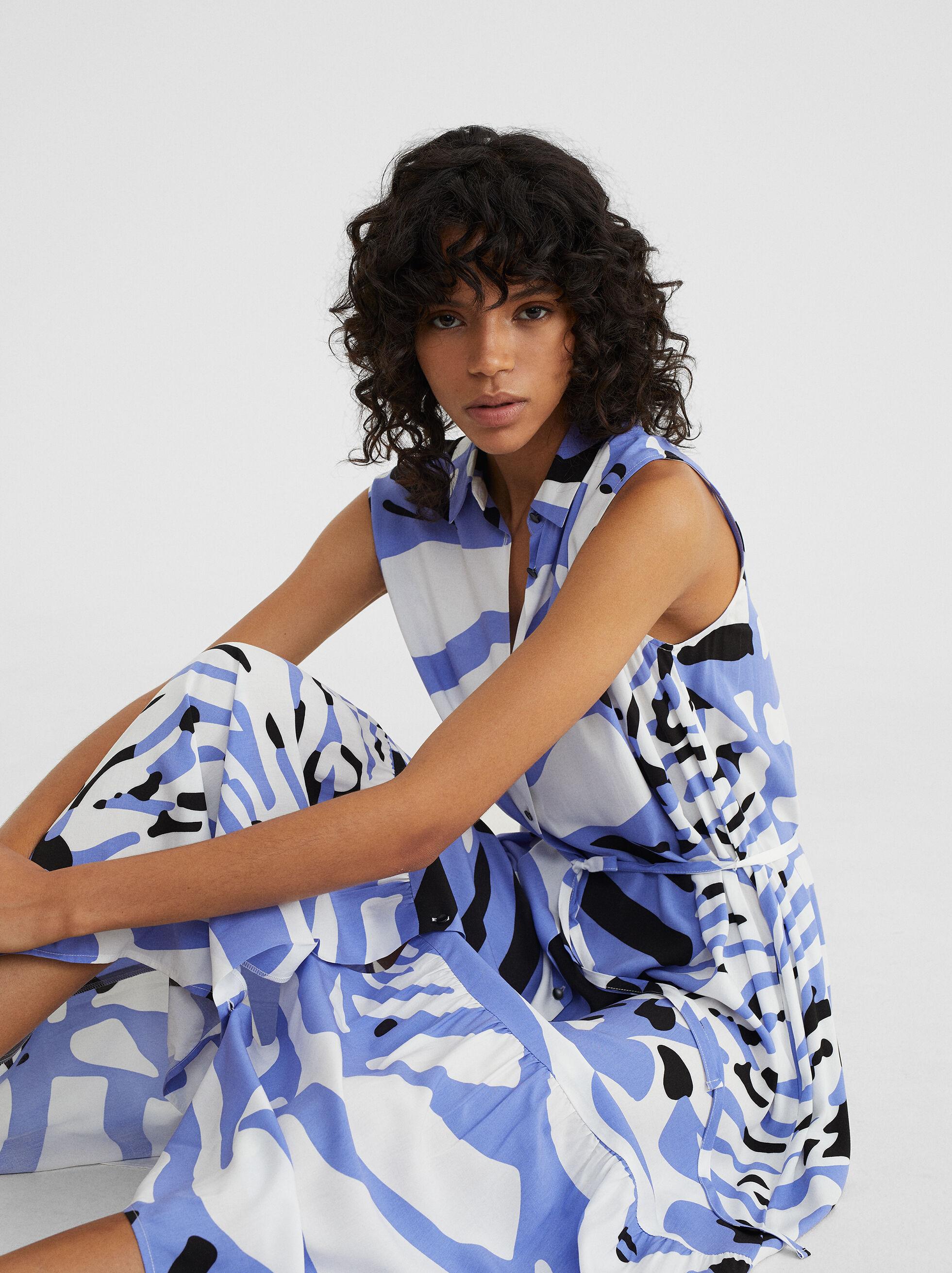 Animal Print Dress, , hi-res