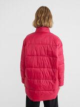 Manteau Rembourré Avec Fermeture Par Boutons, Rose, hi-res