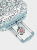 Paisley Print Trolley, Blue, hi-res