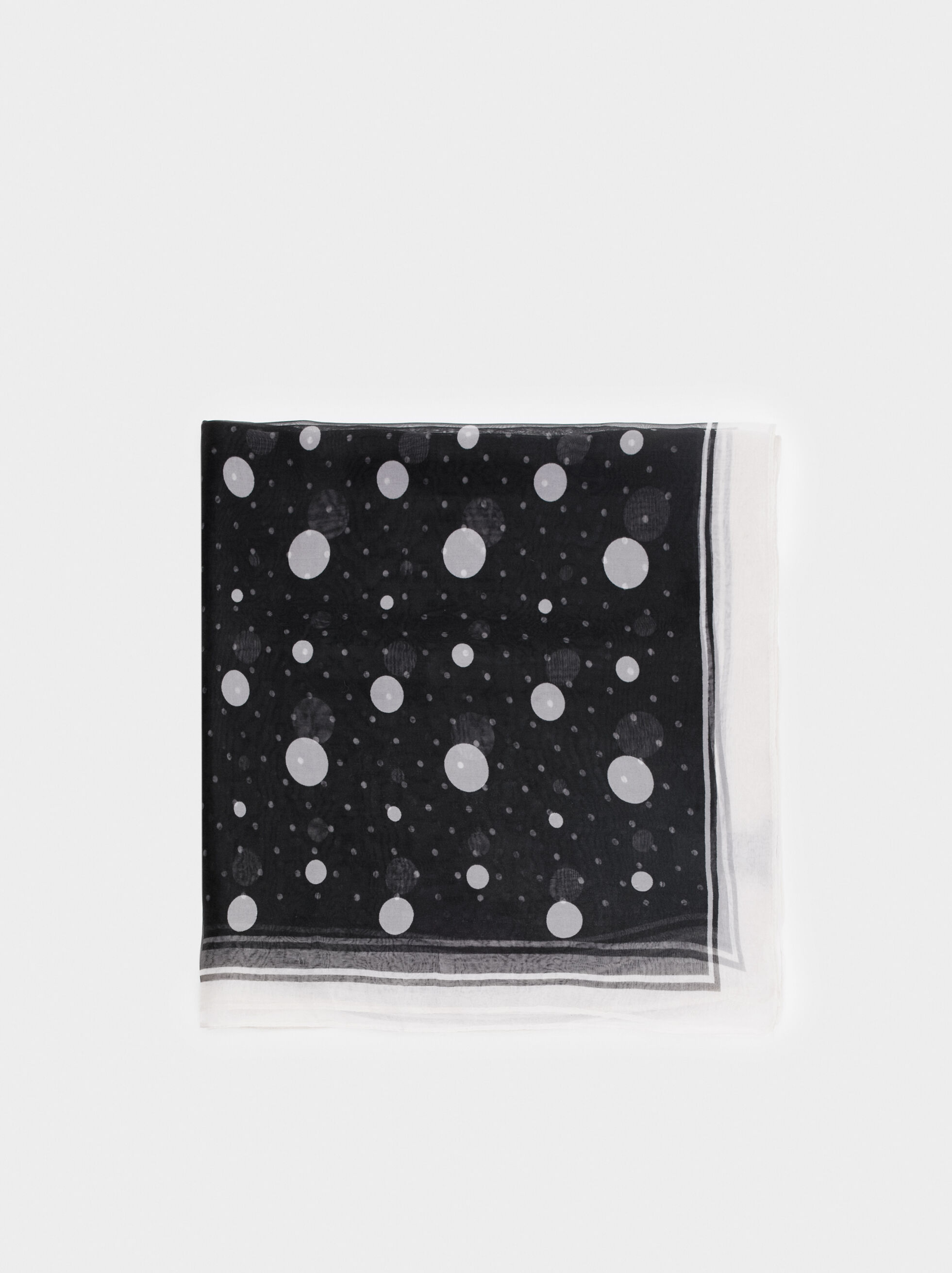 Polka Dot Neckerchief, , hi-res
