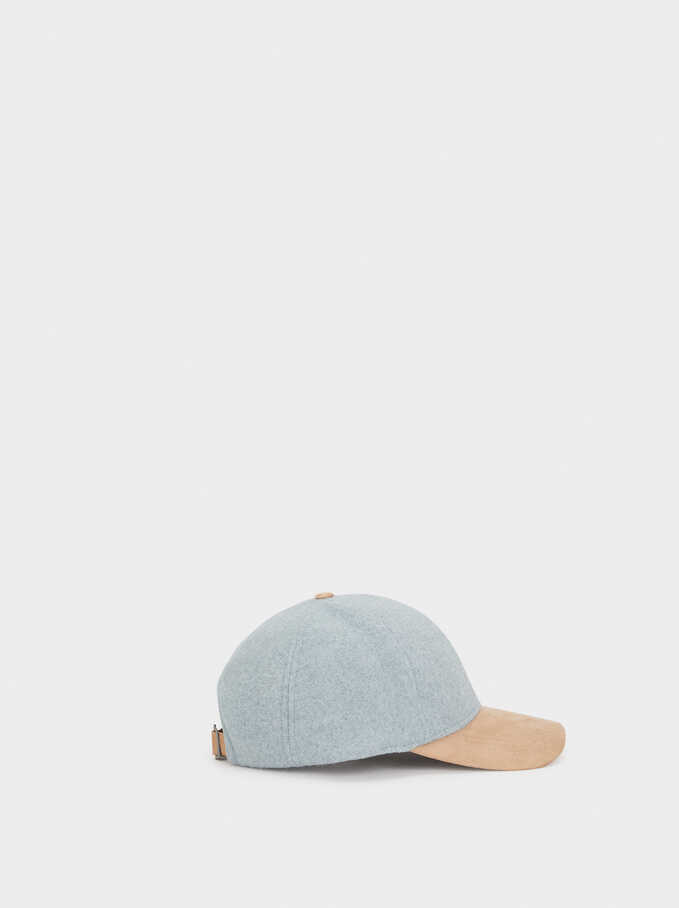 Plain Cap, Grey, hi-res