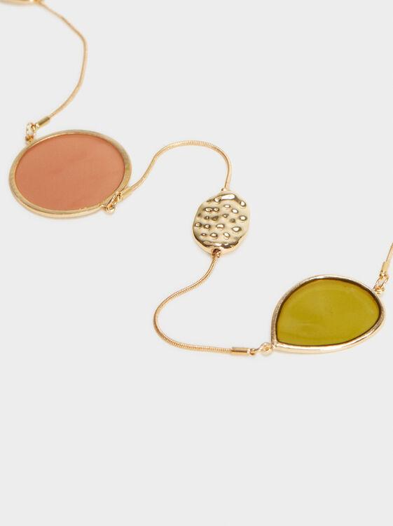 Bubbles Long Necklace, Multicolor, hi-res