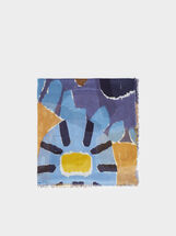 Foulard En Modal Imprimé Multicolore, , hi-res