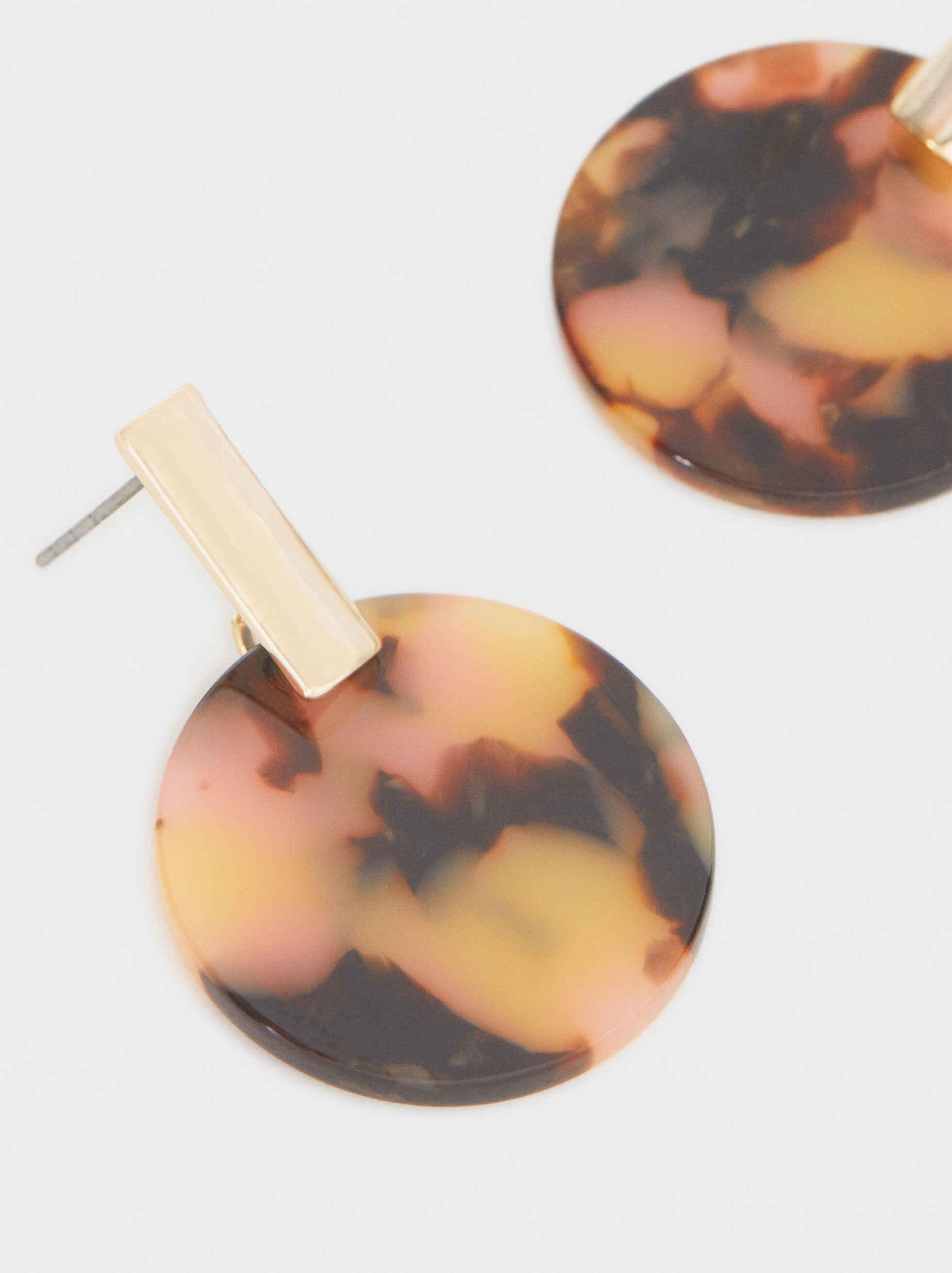 Pendientes Medianos Círculo Multicolor, Multicor, hi-res