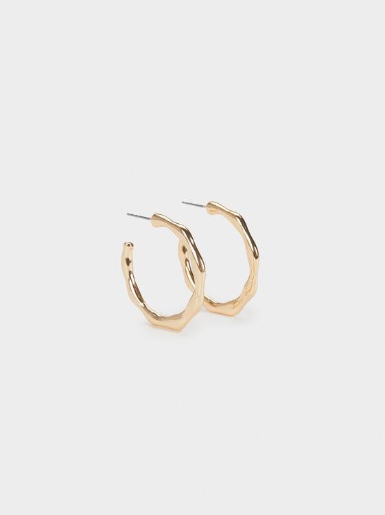Basic Small Hoop Earrings, , hi-res