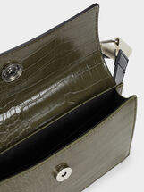 Animal Embossing Belt Bag, Green, hi-res