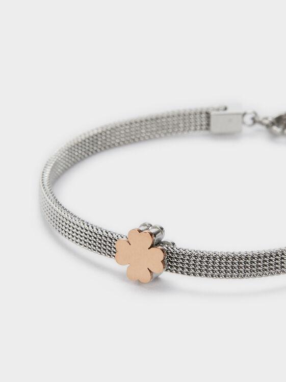 Stainless Steel Bracelet, Multicolor, hi-res