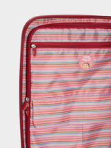 Mexico Print Trolley Bag, Coral, hi-res
