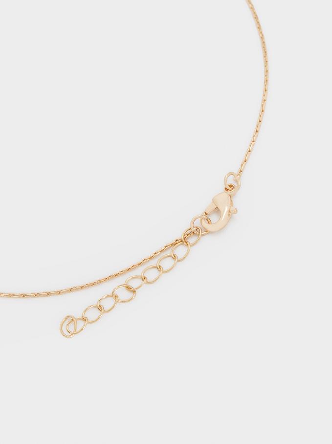 Collana Con Ciondoli, D'oro, hi-res