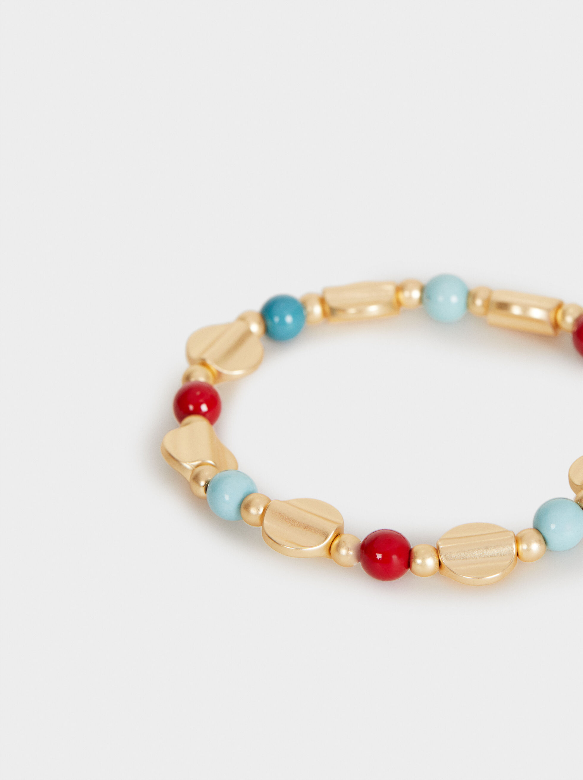 Cherry Blossom Stretch Bracelet, Multicolor, hi-res