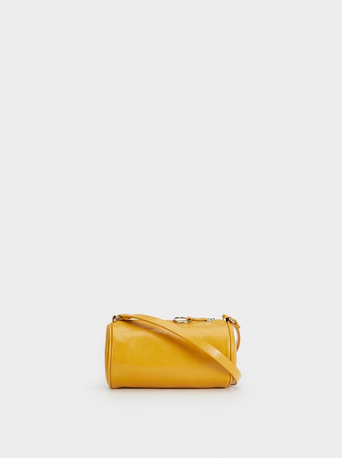 Pipe Tubular Crossbody Bag, Yellow, hi-res