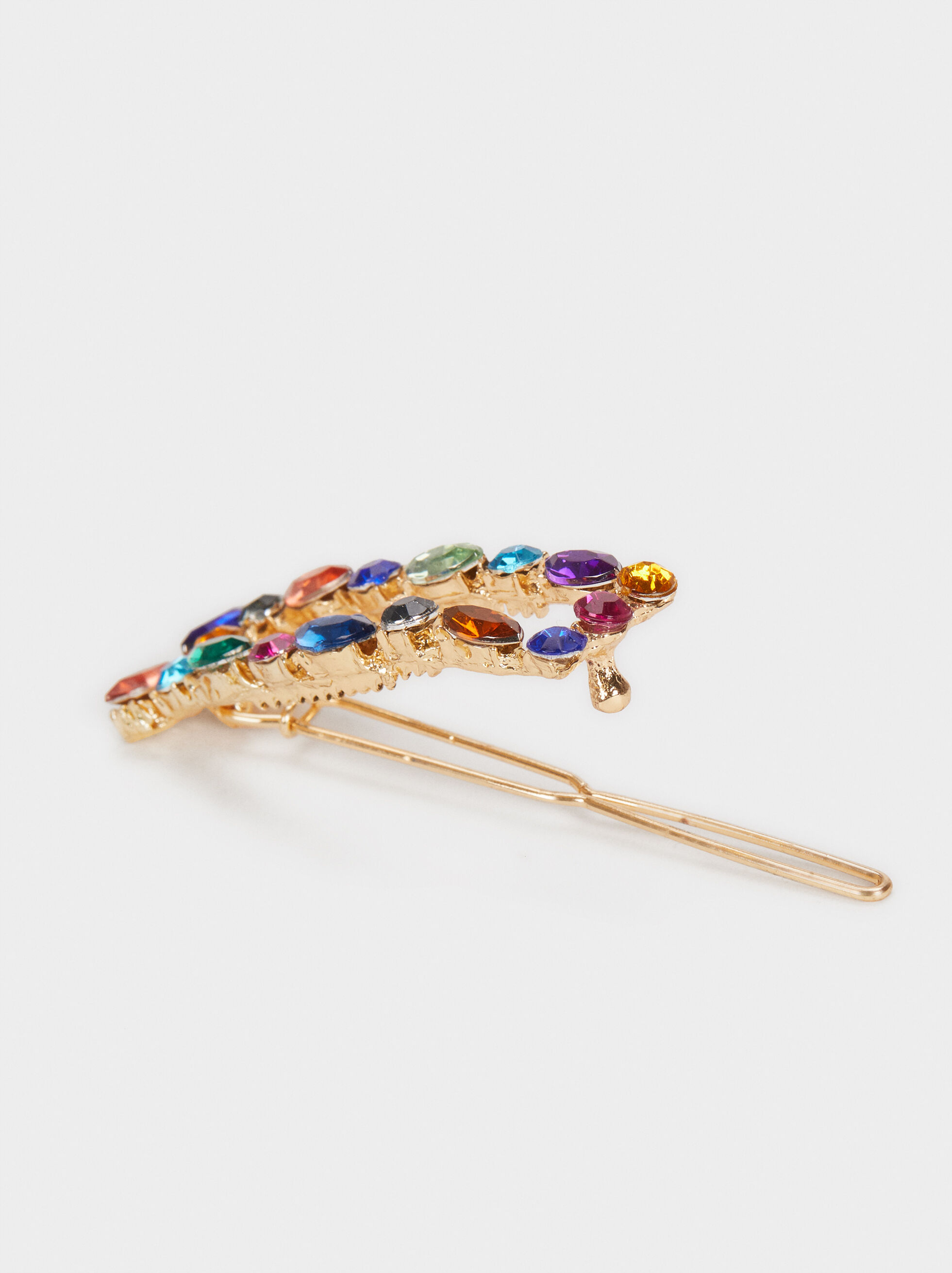 Bejewelled Hairclip, Multicolor, hi-res
