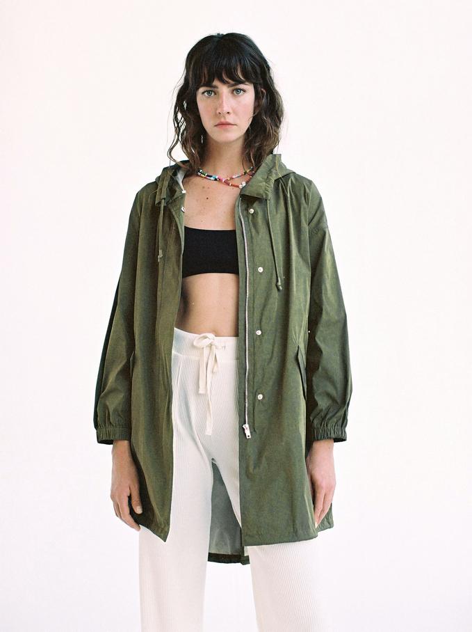 Waterproof Jacket, Khaki, hi-res