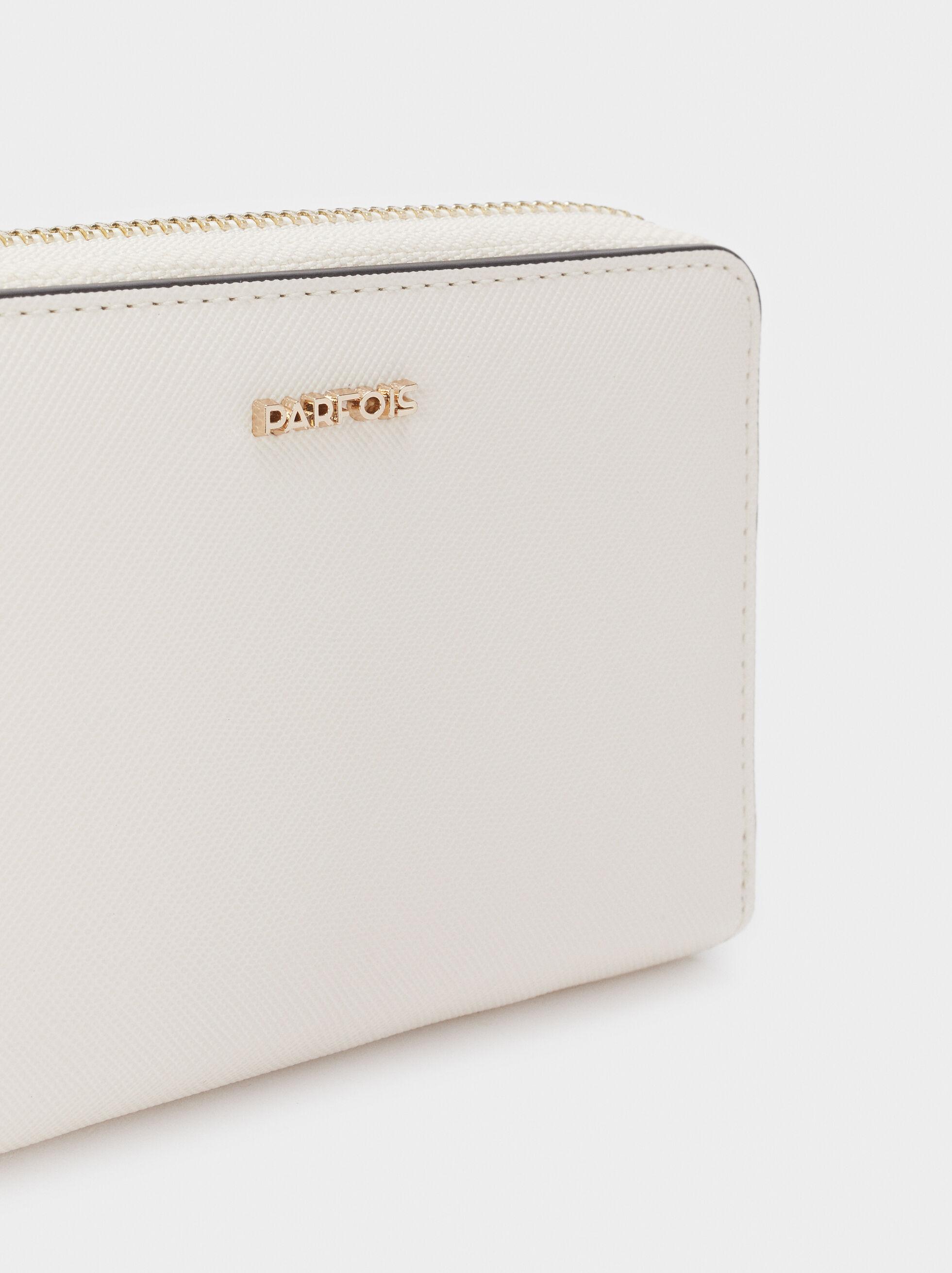 Basic Wallet, Ecru, hi-res