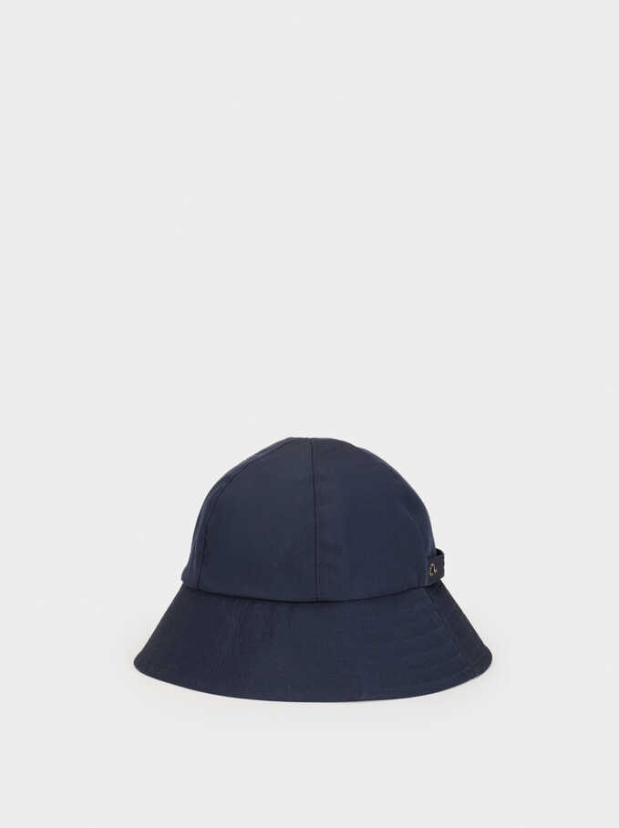 Waterproof Hat, Navy, hi-res