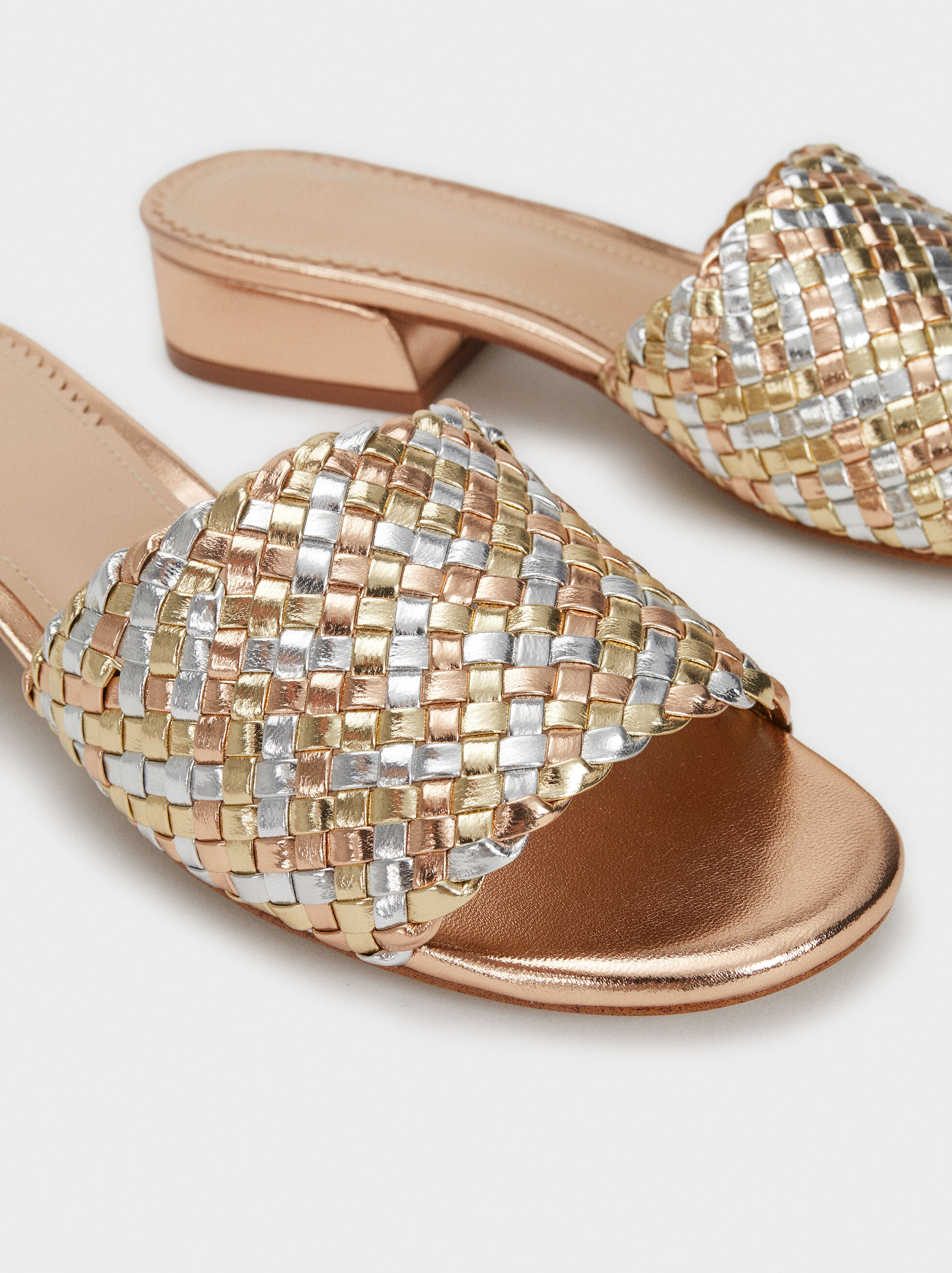 Flat Braided Sandals, , hi-res