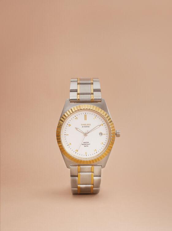 Reloj De Acero Inoxidable Special Edition, Plateado, hi-res