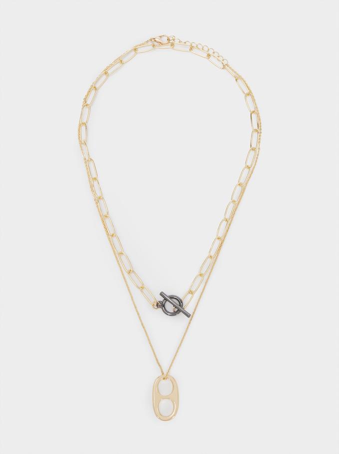 Conjunto De Collares Eslabones, Multicor, hi-res