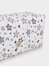 Star Print Case, Pink, hi-res