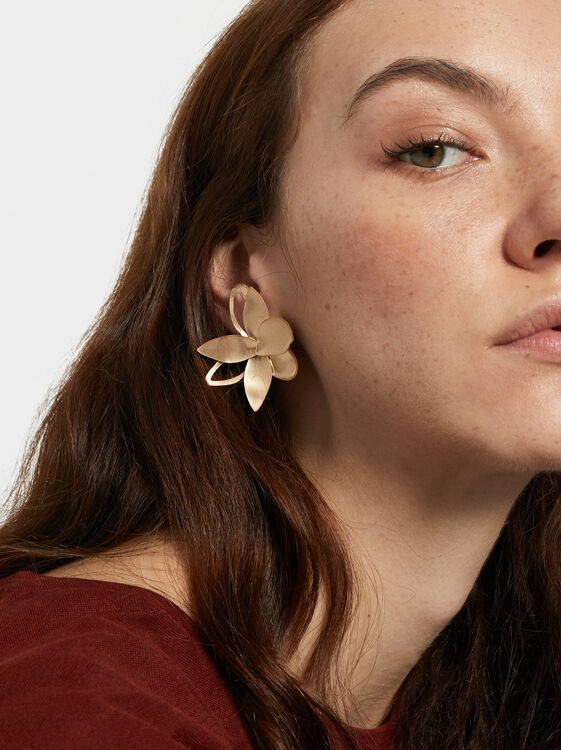 Exclusive Collection Earrings, Golden, hi-res