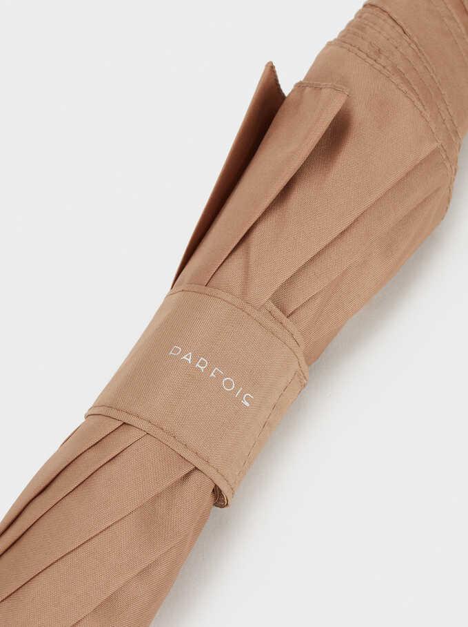 Plain Umbrella, Beige, hi-res