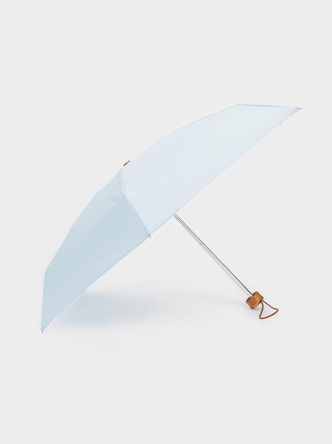 Small Plain Umbrella, Blue, hi-res