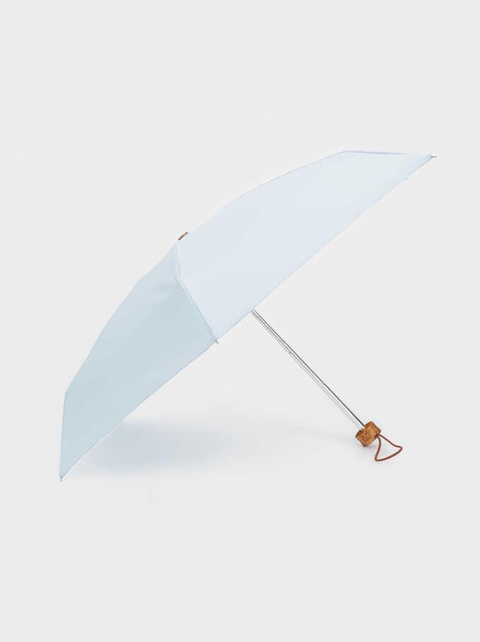 Paraguas Pequeño Plegable, Azul, hi-res