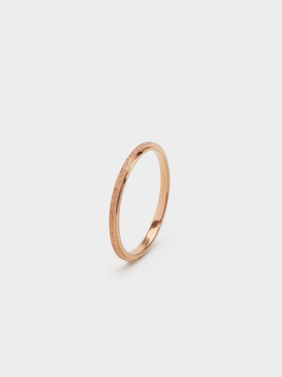 Steel Rhinestone Ring, , hi-res