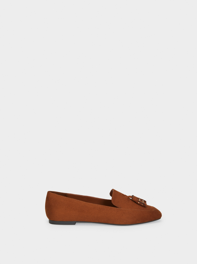 Tasselled Loafers, Camel, hi-res