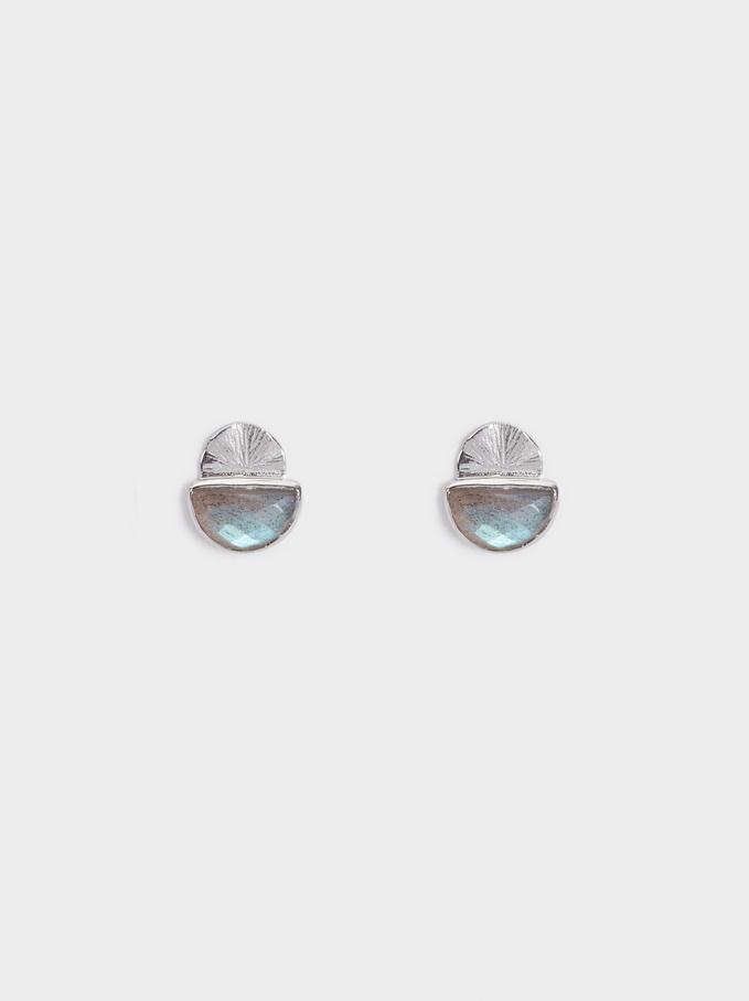 925 Silver Studs, Grey, hi-res