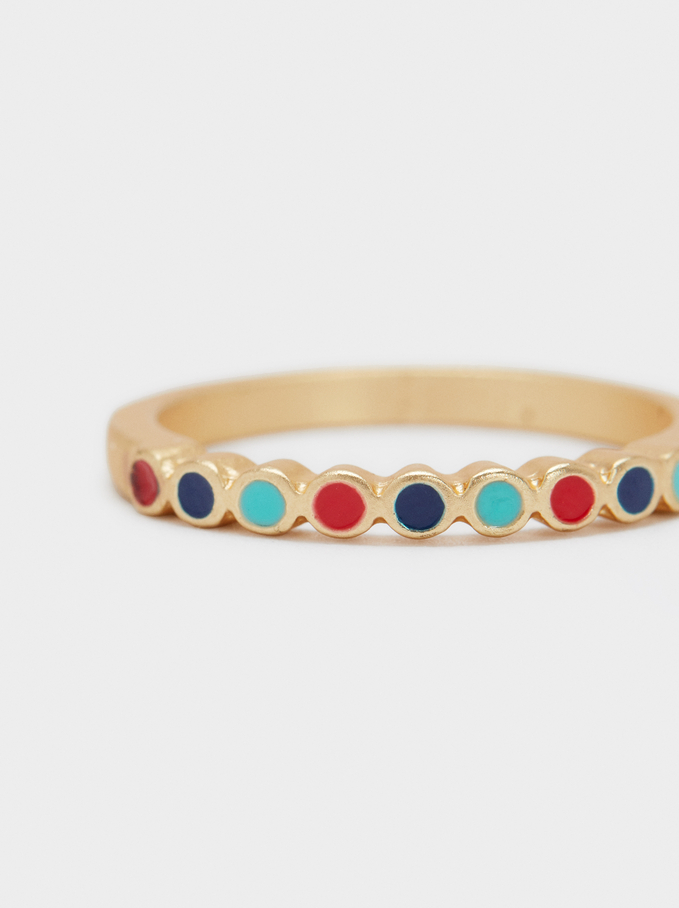 Recife Gemstone Ring, Multicolor, hi-res